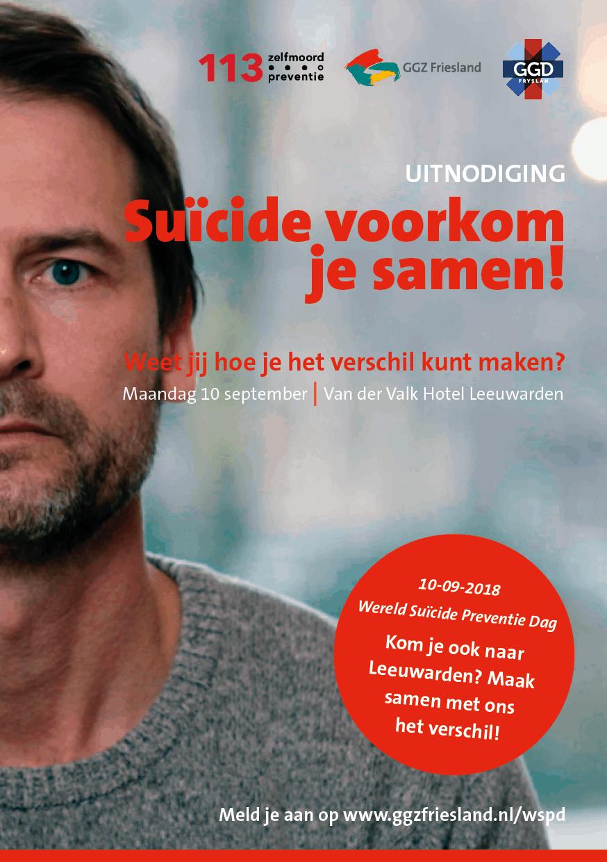 Suïcide voorkom je samen